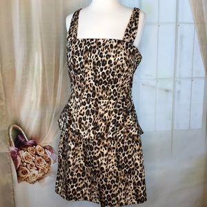 Charlotte Russe Leopard Print Dress
